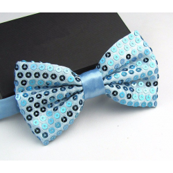 Sequined bow tie