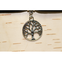 Velvet necklace (chocker) Tree of life