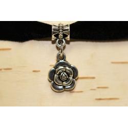 Collier de velours ras-de-cou Fleur