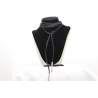 Leather necklace (chocker)
