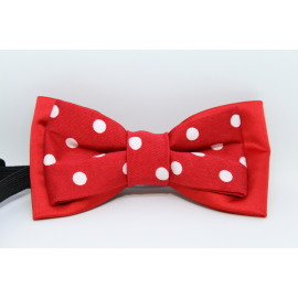 Bow tie Happy Red 01