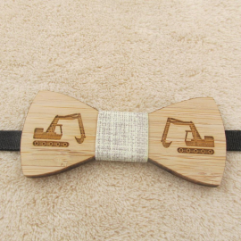 Noeud papillon en bois pour enfants Construction