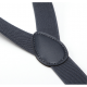 Bretelles élastiques ajustables Brun