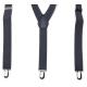 Bretelles élastiques ajustables Beige kaki