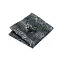 Handkerchief  HLV-209 Grey paisley Silk 100%