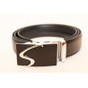 Adjustable black belt large size BC-S