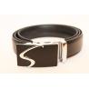 Adjustable black belt large size BC-S
