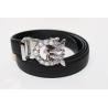 Adjustable belt black WBBS-Bees