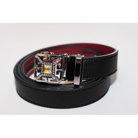 Adjustable belt black WBLY-Diamant
