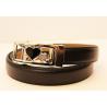 Adjustable belt black WBD-2coeurs