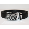 Adjustable belt black WBBS-Emily