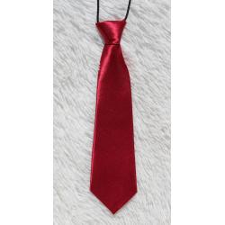 Red kid tie