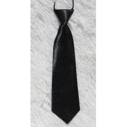 Cravate noire pour enfants