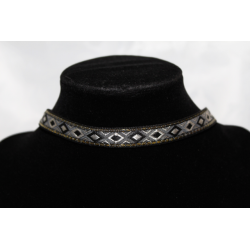 Leather necklace (chocker)